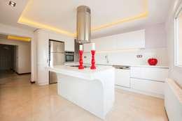 BAGO MİMARLIK  – İkiztepe Konakları: modern tarz Mutfak