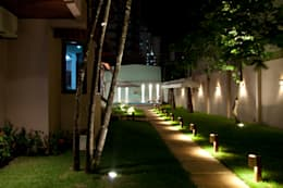 Projekty,  Ogród zaprojektowane przez L+A Arquitetura de iluminação