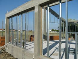 Projekty, wiejskie Domy zaprojektowane przez knowhowtobuild
