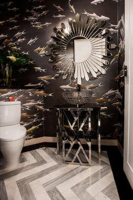 Ванные комнаты в . Автор – Design Intervention