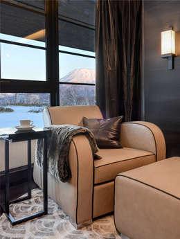 modern Living room by Design Intervention