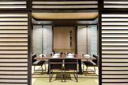 asian Dining room by Design Intervention