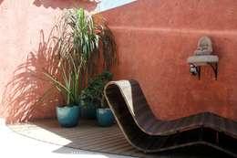 Jardines de estilo  por Carol Abumrad Arquitetura e Interiores