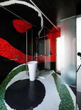 45°: Baños de estilo moderno por Design Group Latinamerica