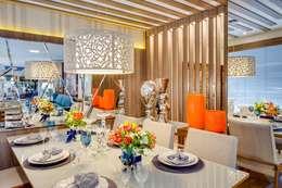 Comedores de estilo moderno por Ideatto Móveis e Decorações
