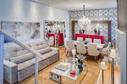 غرفة السفرة تنفيذ Ideatto Móveis e Decorações