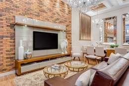 Salas de estilo moderno por Ideatto Móveis e Decorações