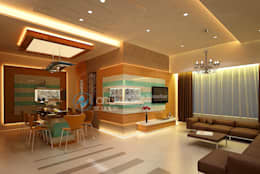 Interior projects: modern Living room by ARY Studios