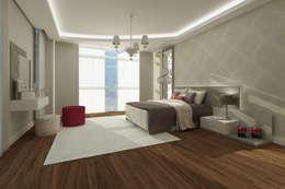 Treso İç Mimarlık – Gold Towers Konut: modern tarz Banyo