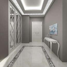 Corredores, halls e escadas modernos por Treso İç Mimarlık