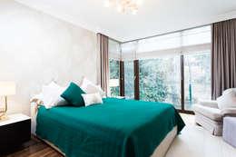 Treso İç Mimarlık – R.K. Konutu: modern tarz Yatak Odası
