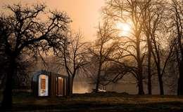 Proyecto Nomad: Casas de estilo moderno por T + T Arquitectos