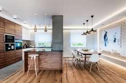 Mieszkanie w Gdańsku: styl , w kategorii Jadalnia zaprojektowany przez Arte Dizain. Agnieszka Hajdas-Obajtek