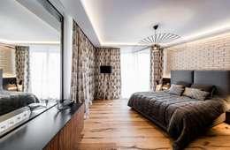 Mieszkanie w Gdańsku: styl , w kategorii Sypialnia zaprojektowany przez Arte Dizain. Agnieszka Hajdas-Obajtek