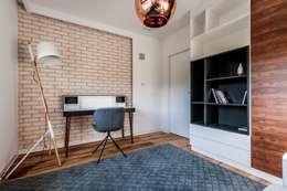 Mieszkanie w Gdańsku: styl , w kategorii Domowe biuro i gabinet zaprojektowany przez Arte Dizain. Agnieszka Hajdas-Obajtek