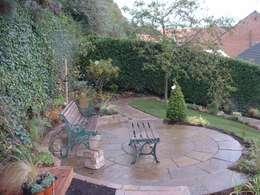 de estilo  por Mike Bradley Garden Design