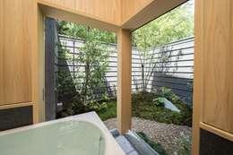 ห้องน้ำ by AMI ENVIRONMENT DESIGN/アミ環境デザイン