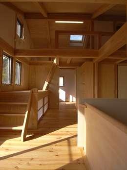 บันได, โถงบันได, ทางเดิน by AMI ENVIRONMENT DESIGN/アミ環境デザイン