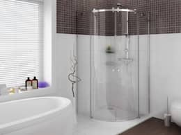 modern Bathroom by 3D MİMARİ