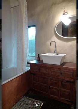 Ванные комнаты в . Автор – Eco House Turkey Saman - Kerpic Ev