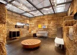 Гостиная в . Автор – Eco House Turkey Saman - Kerpic Ev