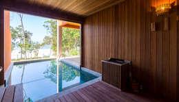 Projeto: Piscinas modernas por Pitta - Arquitetura e Engenharia