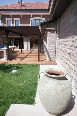 RETA Architecture-Interior-Industrial Design – Ankara Villa: modern tarz Bahçe