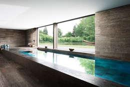 minimalistic Pool by Förstl Naturstein