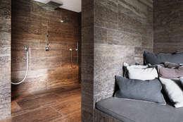 minimalistic Bathroom by Förstl Naturstein