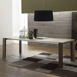 Table extensible en Verre-Céramique Ceramic Made in Italy, super durable: Cuisine de style de style Moderne par Viadurini.fr