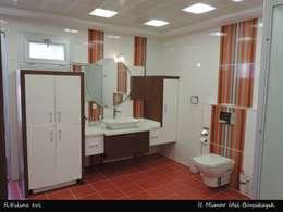 idiliçmimarlık – R. Kılınç Evi: modern tarz Banyo