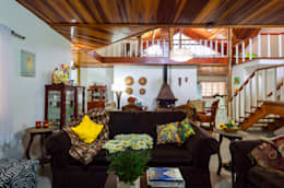 Livings de estilo rural por Elisabeth Berlato Arquitetura, Interiores e Paisagismo