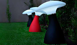 Minion: Jardines de estilo moderno por Nodobjetos