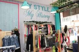 Diseño de espacios comercilaes: Oficinas y tiendas de estilo  por Dies diseño de espacios