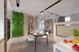 مطبخ تنفيذ Студия авторского дизайна ASHE Home