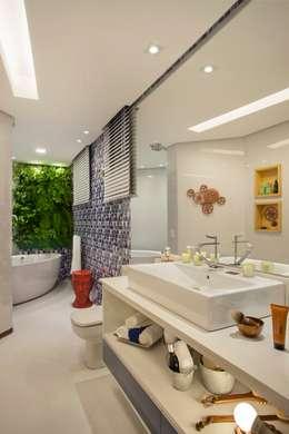 Mericia Caldas Arquitetura의  화장실