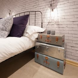 industrial Bedroom تنفيذ Jigsaw Interior Architecture