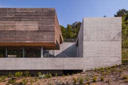 Casas de estilo moderno por Carvalho Araújo