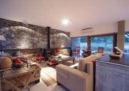 modern Living room by LUCAS MC LEAN ARQUITECTO