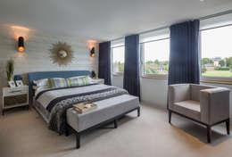 Projekty,  Sypialnia zaprojektowane przez Jigsaw Interior Architecture