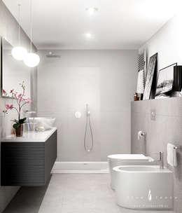 Baños de estilo moderno por Freelance3d
