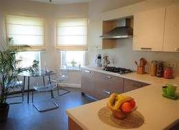 NGY Mimarlık – bolluca neogölpark evleri - 1.etapta 80 adet 400 m2 villanın ince yapı işleri uygulama kontrollüğü: modern tarz Mutfak