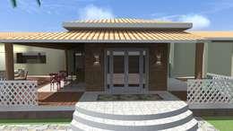 Casas de estilo rural por Arquiteto Lucas Lincoln