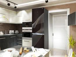 8: Кухни в . Автор – Первое Дизайн-Бюро