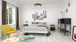 modern Bedroom by InOutSide Architecture and Design