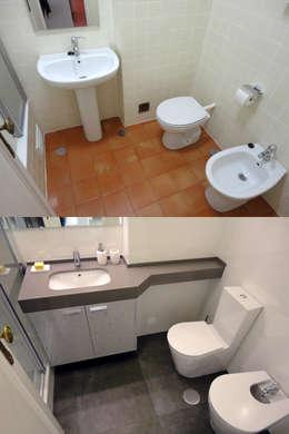 modern Bathroom by Happy Ideas At Home - Arquitetura e Remodelação de Interiores