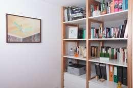 Obra Cabello: Livings de estilo moderno por Arq. Jazmin Zang