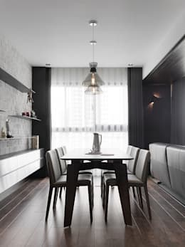 modern Dining room by KD Panels