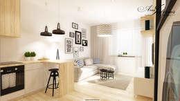Salon de style de style Moderne par And Interior Design