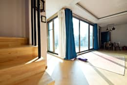 관산동 주택: GongGam Urban Architecture & Construction의  거실
